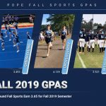 Fall Sports Student-Athletes Excel in the Classroom