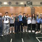 Coed Junior Varsity Wrestling finishes 3rd place at King of the Hill JV tournament