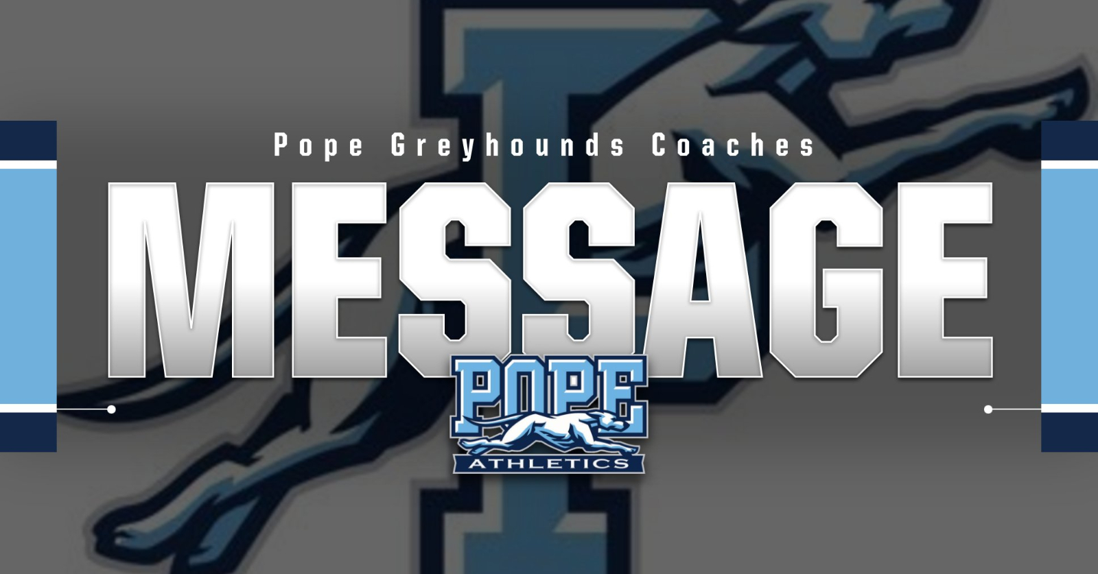 Message from Pope Coaches