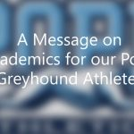 Message from Pope Coaches to our Greyhounds