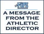 A Message from the AD June 10, 2020