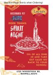 Pope Tennis Night @ Lucias Italian on Tuesday, December 1st