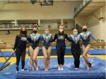 Girls Varsity Gymnastics finishes 3rd place at Meet hosted by Westminster