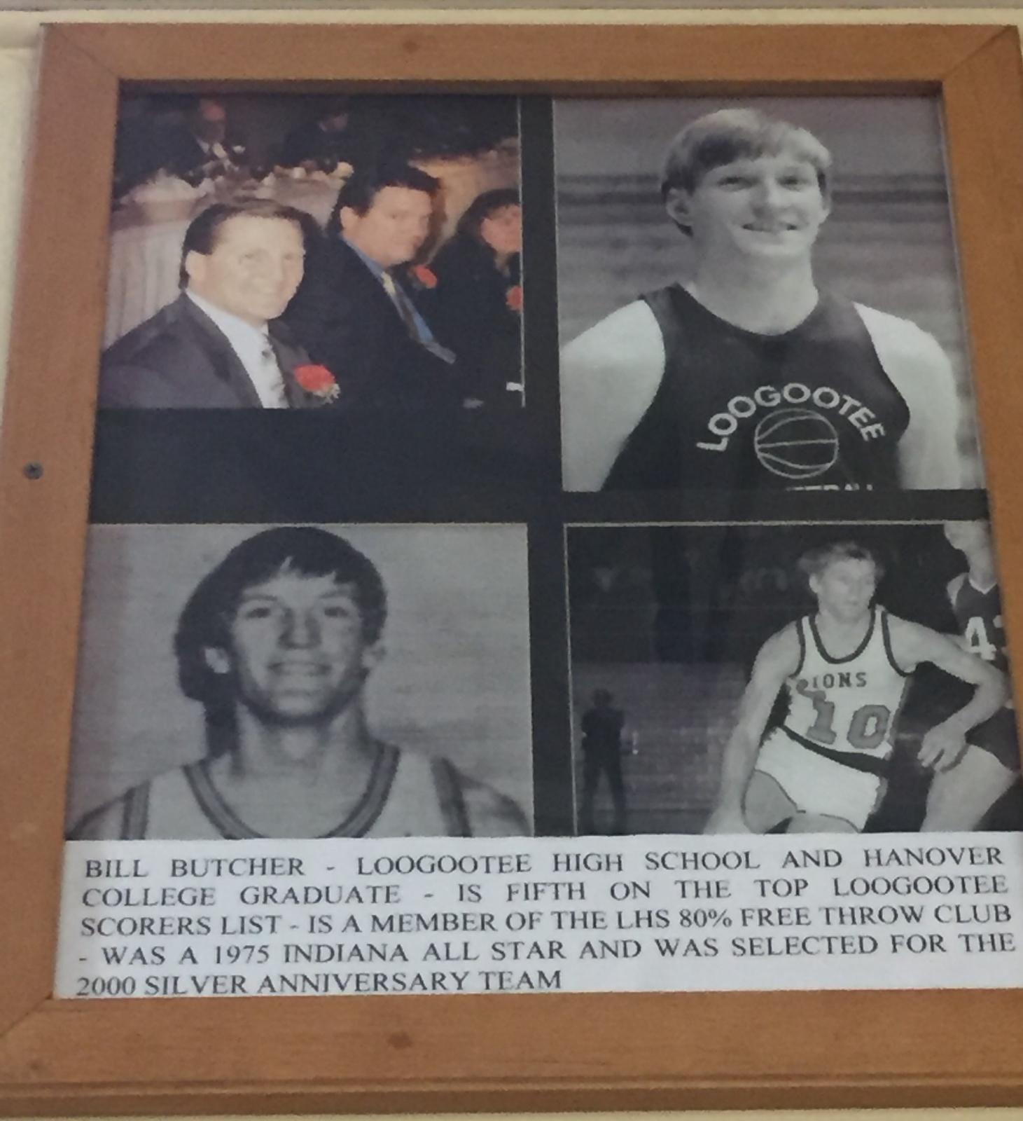 Bill Butcher- Hall of Fame info