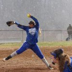Girls Varsity Softball falls to Wellsville 3 – 1