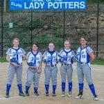 Lady Potters Softball vs Union Local Sr Night