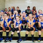 EL Seventh Grade Lady Potters Top Harrison Central