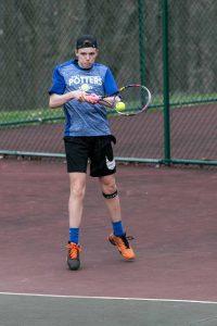 Potters Tennis take on Bulldogs 4-8-19