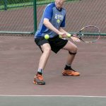 Tennis stays perfect on court defeats Big Red 4-29-19