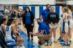 Lady Potters battle with Lady Panthers