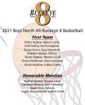 4 Potters earn Buckeye 8 North  All Team