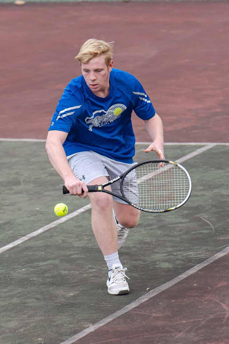 Potters Tennis Sweeps Salem 4-5-21