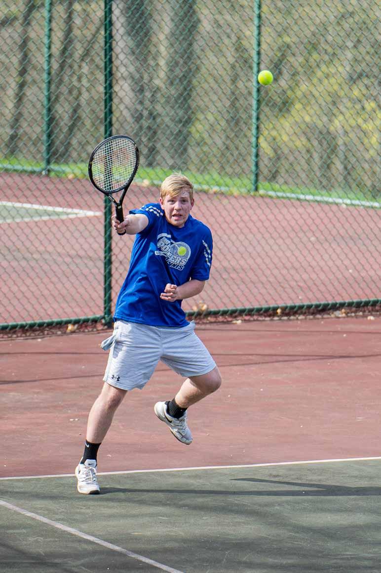 Boys Tennis plays host to Boardman 4-9-21