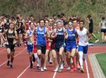 Boys Track compete in Ward Invitational