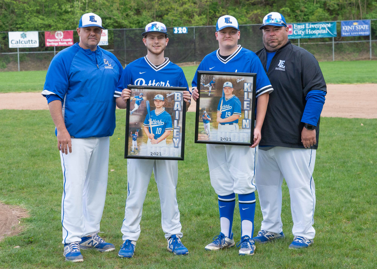 Potters get win on Senior Night