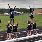 Cheerleaders Impress Fans