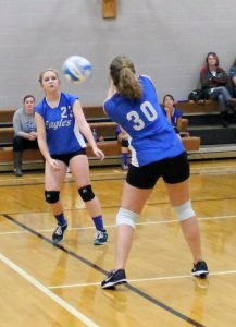 C-Team Volleyball vs Rush City 9/30/2015