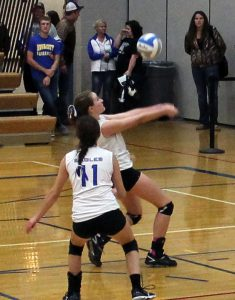 JV Volleyball vs Rush City 9/29/2015