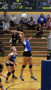 Varsity Volleyball vs Rush City 9/29/2015