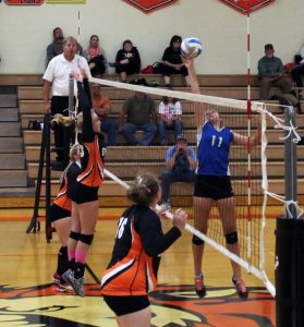 Varsity Volleyball vs Ogilvie 10/1/2015