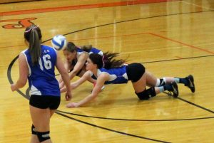 Varsity Volleyball vs Ogilvie 10/27/2015