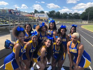 JV and Varsity Cheerleaders 9/7/19 vs. Duval HS