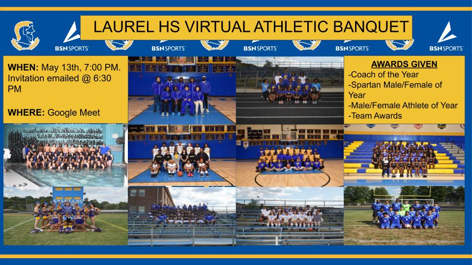 Laurel Spartans Virtual Athletic Banquet 2020