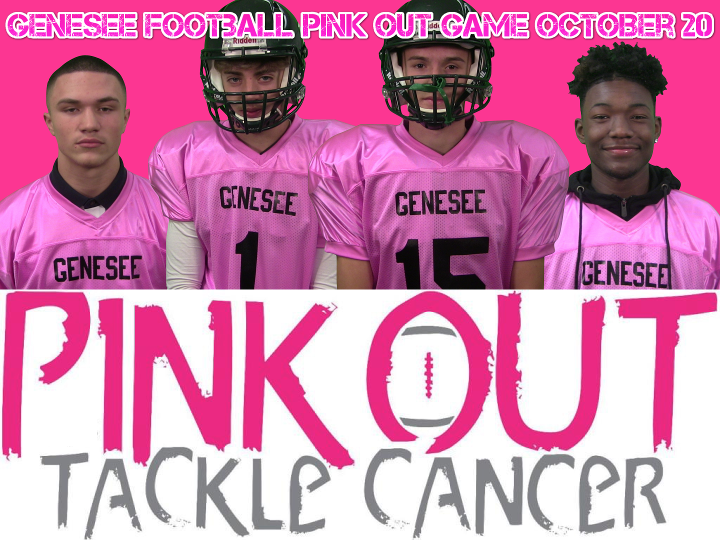 1st Annual Pink Out October 20th
