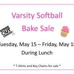 Varsity Softball Bake Sale