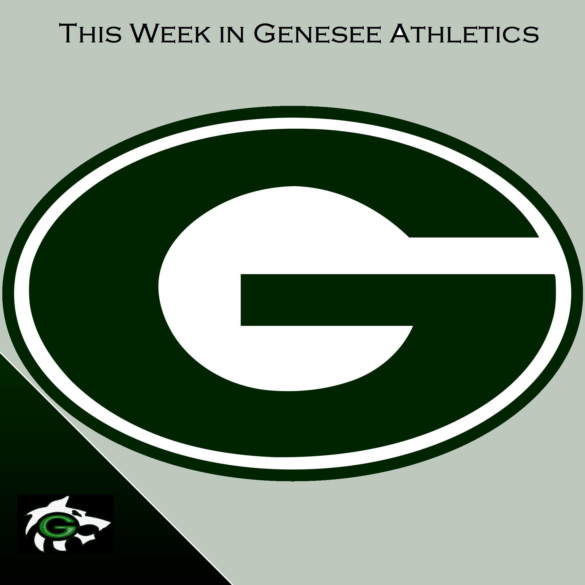 This Week in Genesee Athletics