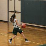 Girls seventh grade basketball beats IAF