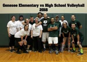 Staff Volleyball Game 11.20