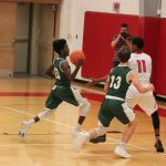 Boys Varsity Basketball falls to Bentley 58 – 18
