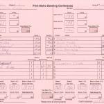 Boys Varsity Bowling Match #3 Results