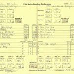 Girls Varsity Bowling Match #8 Results