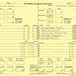 Girls Varsity Bowling Match #9 Results