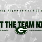 "Parent/Player Fall Sports Informational ""Meet The Team"" Night"