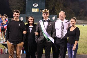 Homecoming King and Court