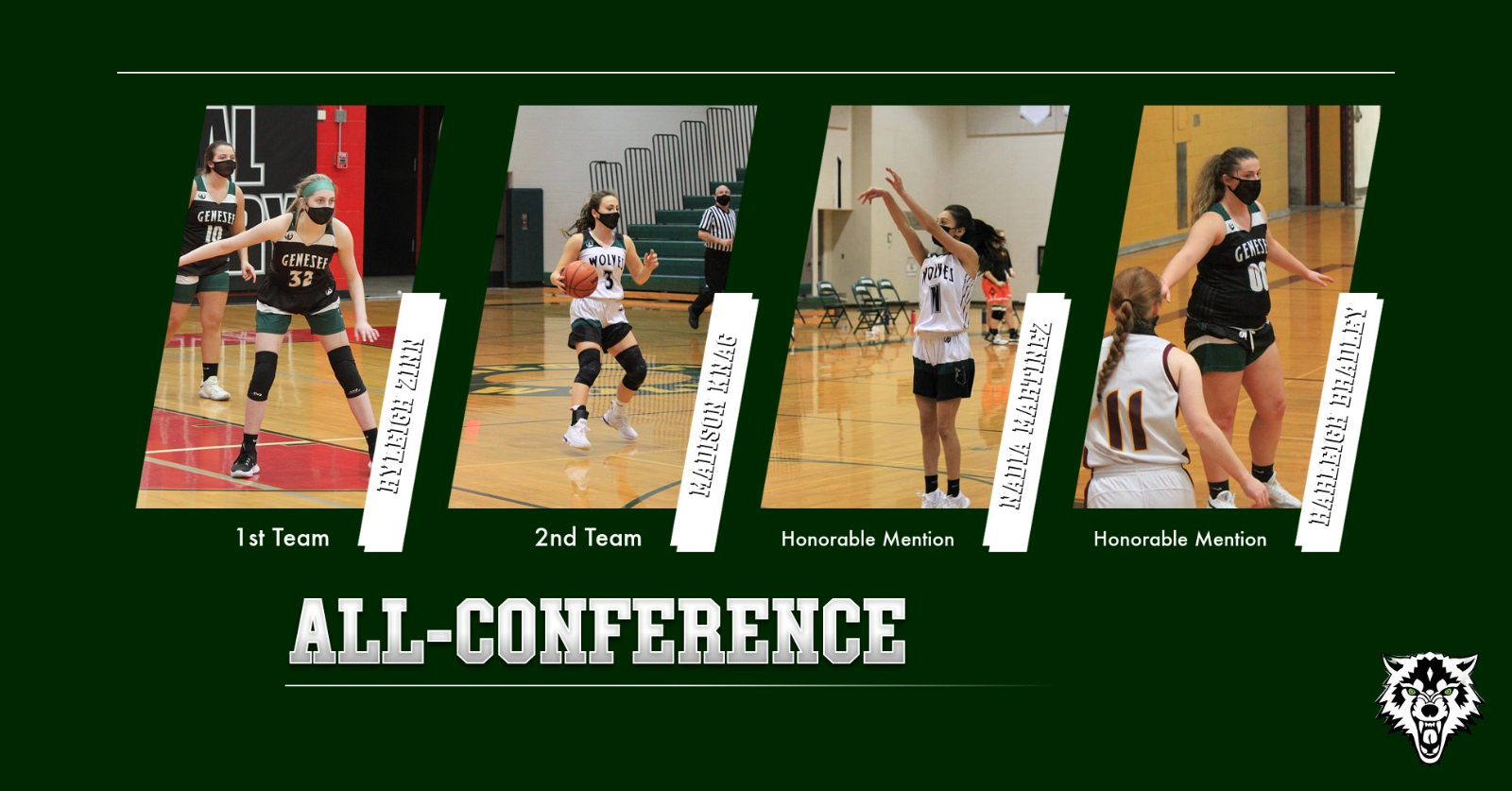 Genesee Student-Athletes Earn NCTL All-League Honors