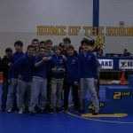 Wrestling team places 2nd at home invite