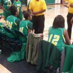 Lady Hornets falls to Lady Shamrocks 36-35