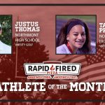 And the Rapid Fired Pizza August Athlete of the Month is….