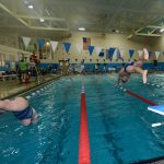Girls Swim Team Breaks Medina Pool Record