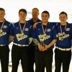 Brunswick Senior High School Boys Varsity Bowling finishes 1st place