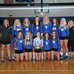 Brunswick Senior High School Girls Varsity Volleyball beat Medina High School 3-1