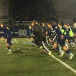 Men's Soccer Loses District Semifinal in Shootout, 2-1