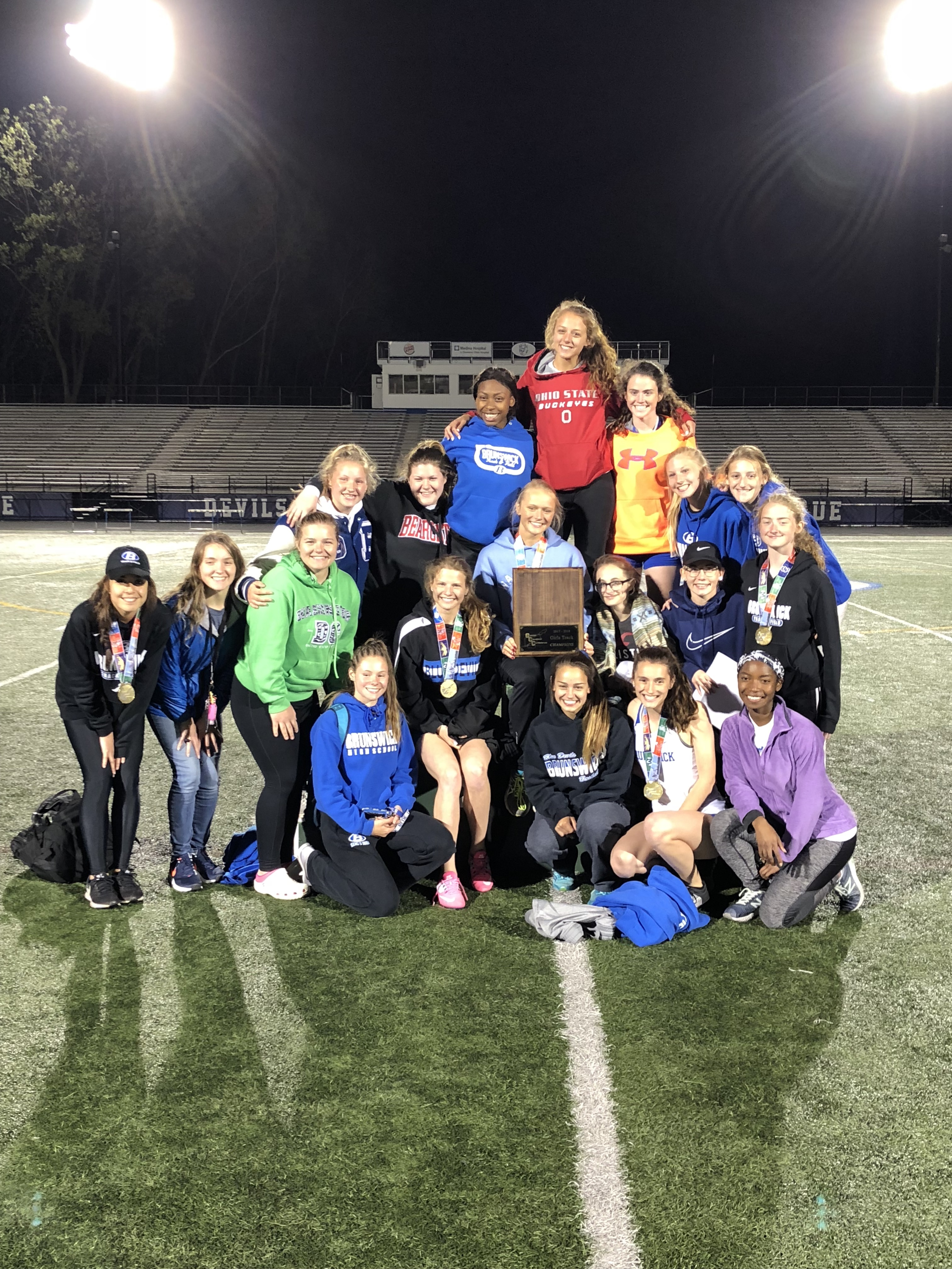 Girls Track & Field – 2018 Greater Cleveland Conference Champions