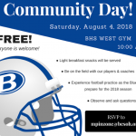 Football Community Day