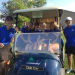 Girls Varsity Golf steadily improves 9 hole score