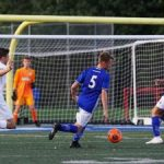 Men's Soccer Wins GCC Opener, 1-0, Over Shaker Heights
